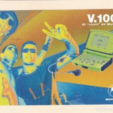 Postales: POSTAL PUBLICITARIA TELEFONO MOTOROLA V 100. Lote 180041628