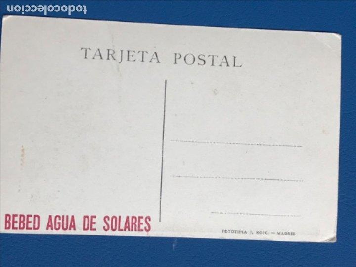 Postales: Postal publicidad agua solares retrato principe de asturias ( fernando VI) museo del prado j. Roig - Foto 2 - 181201542