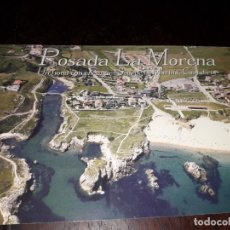 Postales: Nº 12265 POSTAL PUBLICIDAD POSADA LA MORENA SOTO DE LA MARINA SANTANDER CANTABRIA. Lote 181532285