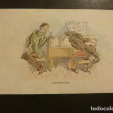 Postales: POSTAL PUBLICITARIA EDITORIAL DE MUSICA CASA DOTESIO MADRID BILBAO BARCELONA SANTANDER. Lote 181928271