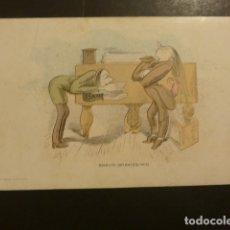 Postales: POSTAL PUBLICITARIA EDITORIAL DE MUSICA CASA DOTESIO MADRID BILBAO BARCELONA SANTANDER. Lote 181928403