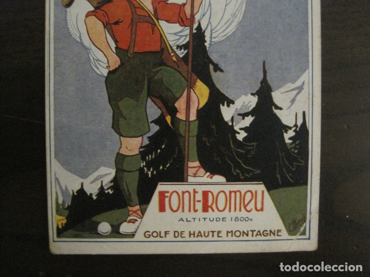 Postales: FONT ROMEU-POSTAL PUBLICITARIA DE GOLF-VER FOTOS-(63.723) - Foto 3 - 182223006