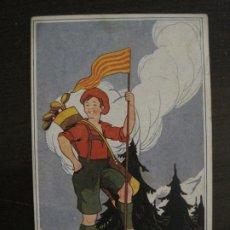 Postales: FONT ROMEU-POSTAL PUBLICITARIA DE GOLF-VER FOTOS-(63.723). Lote 182223006