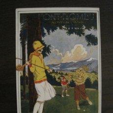 Postales: FONT ROMEU-POSTAL PUBLICITARIA DE GOLF-VER FOTOS-(63.724). Lote 182223023