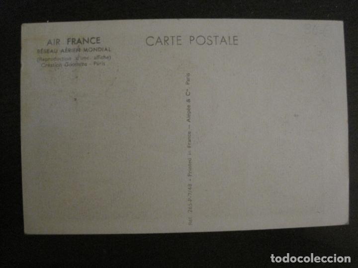 Postales: AIR FRANCE-LINEA AEREA-POSTAL PUBLICITARIA DE AVIONES-VER FOTOS-(63.725) - Foto 4 - 182223377