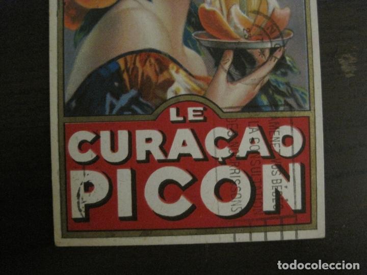 Postales: LE CURAÇAO PICON-ILUSTRACION GASPAR CAMPS-POSTAL PUBLICITARIA-VER FOTOS-(63.727) - Foto 4 - 182223691