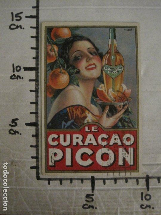 Postales: LE CURAÇAO PICON-ILUSTRACION GASPAR CAMPS-POSTAL PUBLICITARIA-VER FOTOS-(63.727) - Foto 6 - 182223691