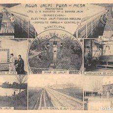 Postales: POSTAL PUBLICIDAD AGUA JALPI- BARCELONA. Lote 182269805