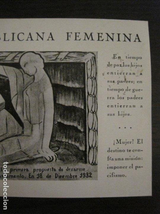 Postales: UNION REPUBLICANA FEMENINA-CLARA CAMPOAMOR-POSTAL ANTIGUA-VER FOTOS-(63.804) - Foto 4 - 182395583