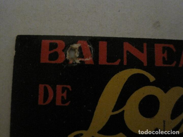 Postales: BALNEARIO Y AGUAS DE LANJARON-CARRERAS Y CIA-GRANADA-POSTAL PUBLICITARIA ANTIGUA-VER FOTOS-(63.806) - Foto 3 - 182398188