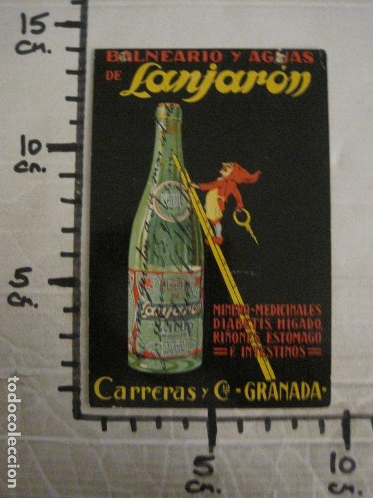 Postales: BALNEARIO Y AGUAS DE LANJARON-CARRERAS Y CIA-GRANADA-POSTAL PUBLICITARIA ANTIGUA-VER FOTOS-(63.806) - Foto 7 - 182398188