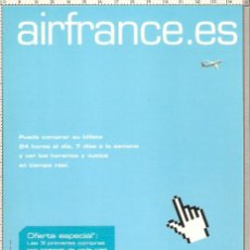 Postales: POSTAL PUBLICITARIA AIR FRANCE. Lote 182742393