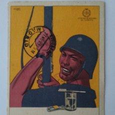 Postales: POSTAL 1937. JEFATURA DE SANIDAD DEL EJÉRCITO.REPÚBLICA ESPAÑOLA. CUIDA TUS DIENTES COMO TUS ARMAS.. Lote 183061546