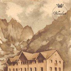 Postales: HOSTAL VALIRA- LES ESCALDES ( ANDORRA). Lote 183091738
