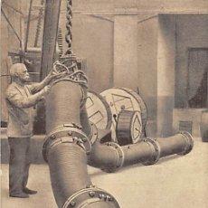 Postales: PIRELLI- UN TUBO GIGANTE IN GOMMA ELASTICA. Lote 183091908