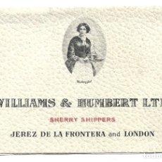 Postales: 6 POSTALES TAURINAS - WILLIAMS & HUMBERT LTD JEREZ DE LA FRONTERA & LONDON SHERRY- DE- BY RAMIREZ. Lote 183331967