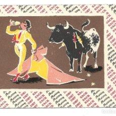 Postales: 5 POSTALES TAURINAS - WILLIAMS & HUMBERT LTD JEREZ DE LA FRONTERA & LONDON SHERRY- DE- BY RAMIREZ. Lote 183332185