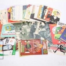 Postales: LOTE DE 210 POSTALES LOTERIA NACIONAL - VARIAS SERIES COMPLETAS - AÑOS 70/80 - SIN CIRCULAR. Lote 183402811
