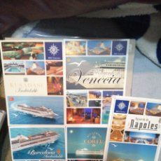 Postales: LOTE DE 5 POSTALES DE CRUCEROS MSC. Lote 183759030
