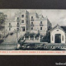 Postales: LABORATORIOS IBERO AMERICANOS-PUBLICIDAD PUY-POSTAL ANTIGUA-(64.692). Lote 184139298