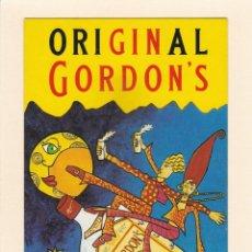 Postais: POSTAL GINEBRA GORDON'S. LONDON DRY GIN. FIESTA GORDON'S. Lote 184879640