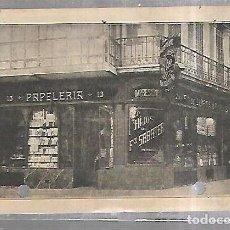 Postales: TARJETA POSTAL. PUBLICITARIA. PAPELERIA HIJOS DE FCO SABATER. BARCELONA. Lote 184926370