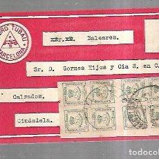 Postales: TARJETA POSTAL. PUBLICITARIA CON NOTA DE PRECIOS. TACONES DE GOMA. PEDRO TUBAU, BARCELONA.. Lote 184926566