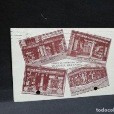 Postales: TARJETA POSTAL PUBLICITARIA. FABRICA DE GENEROS DE PUNTO. VILARDELL HERMANOS.. Lote 186918577