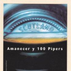 Postales: POSTAL WHISKY 100 PIPERS - POSTALFREE. Lote 187128836