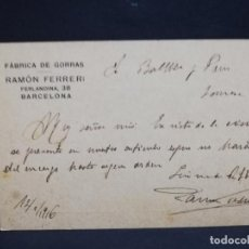 Postales: TARJETA POSTAL PUBLICITARIA. E. PALAU & Cº. . Lote 188651957