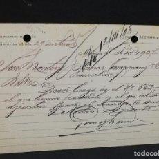 Postales: TARJETA POSTAL PUBLICITARIA. GOMEZ HERMANOS.. Lote 188652797