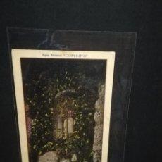 Postales: TARJETA POSTAL PUBLICITARIA. AGUA MINERAL COPELINA. NUESTRA SEÑORA DE LA FUENTE.. Lote 188788205