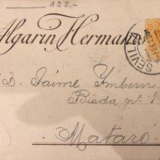 Postales: SEVILLA. ALGARIN HERMANOS. 1923 VER DORSO. Lote 189076980