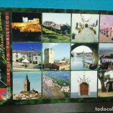 Postales: LOTE 13 POSTALES POR TIERRAS VAYANAS PORTUGAL CIRCUITO TURÍSTICO. Lote 189980018
