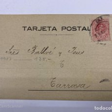 Postales: TARJETA POSTAL PUBLICITARIA. J. PALAU & CO. BARCELONA, 1916. Lote 190221608