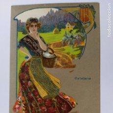 Postales: VINO VIAL-CATALANA-DEPOSITO ANTONIO SERRA FARMACIA EN REUS-POSTAL PUBLICIDAD ANTIGUA-(65.984). Lote 190370255
