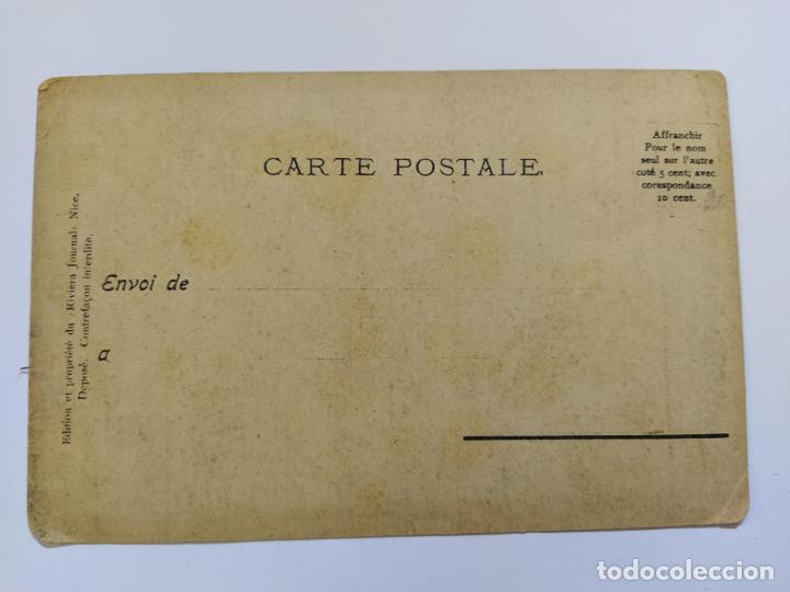 Postales: MONTE CARLO-SOUVENIR LE GRANDE POTERIE-POSTAL PUBLICIDAD ANTIGUA-(65.987) - Foto 3 - 190370695
