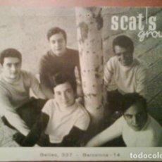 Postales: TARJETA - FOTOGRAFÍA PUBLICITARIA SCAT´S GROUP - BARCELONA. Lote 190501391