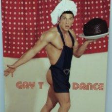Postales: GAY T DANCE, SALA APOLO. BCN 2004 -TARJETON-. Lote 191811382
