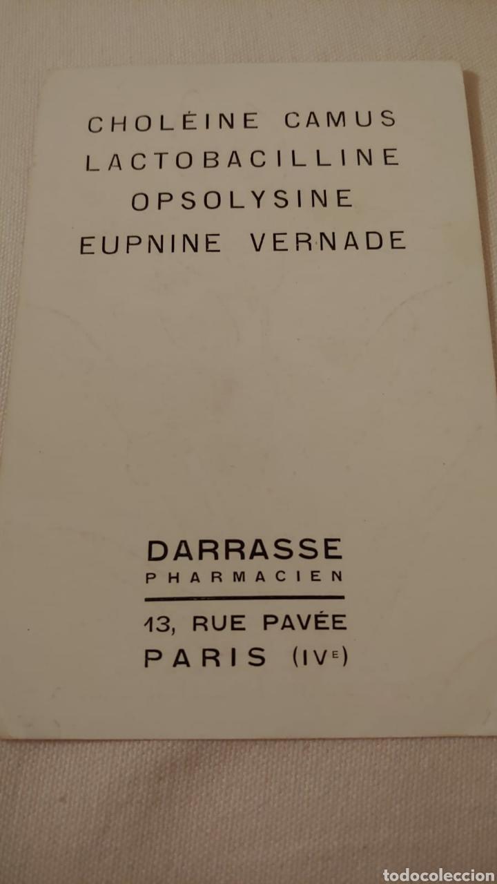 Postales: Postal publicidad farmacia Darrasse. París - Foto 2 - 192210727