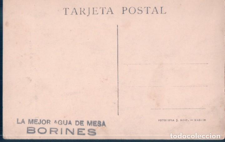 Postales: POSTAL PUBLICIDAD BORINES AGUA DE MESA - EL VIATICO A BORDO - J MARTINEZ ABADES - M MODERNO - BARCO - Foto 2 - 192364116