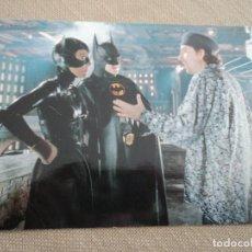 Postales: POSTAL GRAN TAMAÑO PROMOCIONAL BATMAN 2011. Lote 192875171