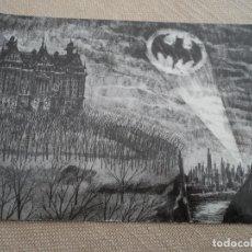 Postales: POSTAL GRAN TAMAÑO PROMOCIONAL BATMAN 2011. Lote 192875220