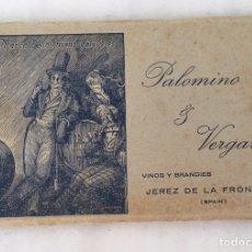 Postales: ÁLBUM COMPLETO POSTAL PALOMINO Y VERGARA ÚNICO EJEMPLAR. Lote 192978371