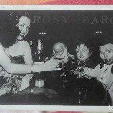 Postales: ANTIGUA POSTAL.ROSY BARON.VENTRILOCUA. FIRMADA.. Lote 193273495