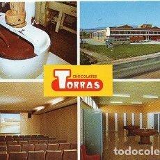 Postales: CHOCOLATES TORRAS - VISTAS DIVERSAS. Lote 193802391