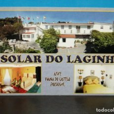 Postales: POSTAL PUBLICIDAD HOTEL SOLAT DO LAGINHA PORTUGAL . Lote 193979440