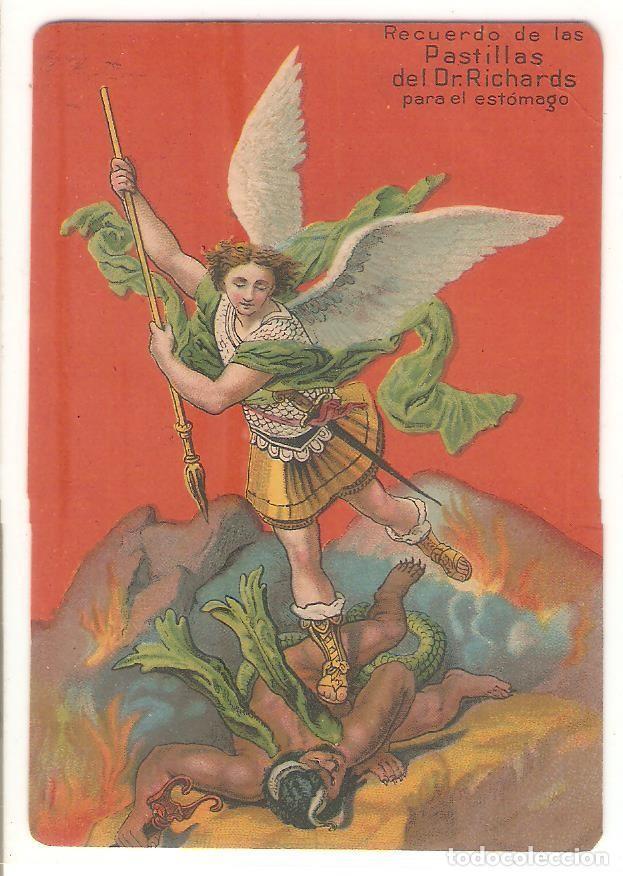 TARJETA PUBLICITARIA, PASTILLAS DEL DR.RICHARDS, USA (Postales - Postales Temáticas - Publicitarias)
