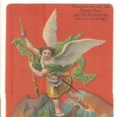 Postales: TARJETA PUBLICITARIA, PASTILLAS DEL DR.RICHARDS, USA. Lote 194231190