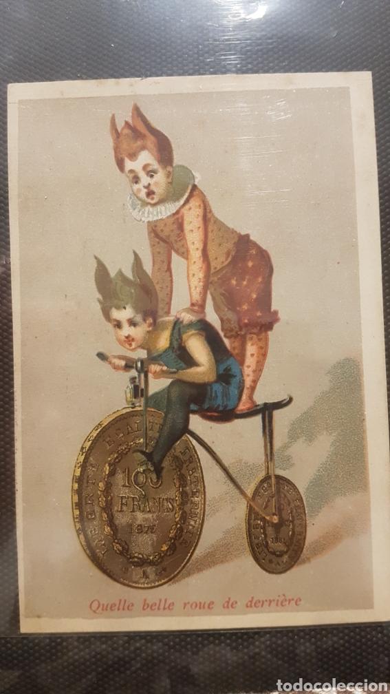 Postales: Lote 3 cromos confiteria y comestibles leandro gusell - Foto 2 - 194245782